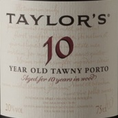 泰勒10年茶色波特酒(Taylor's 10 Year Old Tawny Port, Douro, Portugal)