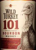 野火鸡101纯波本威士忌(Wild Turkey 101 Kentucky Straight Bourbon Whiskey,Kentucky,...)