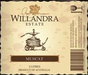 威兰德拉庄园麝香加强酒(Willandra Estate Muscat,Riverina,Australia)