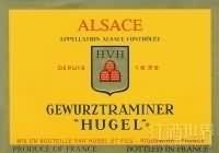 雨果父子琼瑶浆半干白葡萄酒(Hugel&Fils Gewurztraminer,Alsace,France)