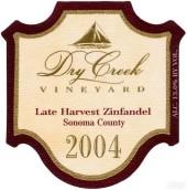 干溪谷晚熟仙粉黛干红葡萄酒(Dry Creek Vineyard Late Harvest Zinfandel,Dry Creek Valley,...)