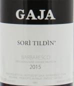 嘉雅苏里蒂丁园巴巴莱斯科红葡萄酒(Gaja Sori Tildin Barbaresco DOCG, Piedmont, Italy)