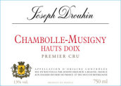 约瑟夫杜鲁安侯迪奥园干红葡萄酒(Joseph Drouhin Hauts-Doix,Chambolle-Musigny,France)