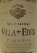 伊甸园圣玛丽亚谷特级珍藏霞多丽干白葡萄酒(Villa Mt. Eden Grand Reserve Chardonnay, Santa Maria Valley, USA)