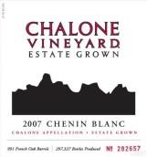 查龙酒庄白诗南干白葡萄酒(Chalone Vineyard Chenin Blanc,Chalone,USA)