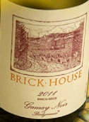 砖房佳美干红葡萄酒(Brick House Gamay Noir, Ribbon Ridge, USA)