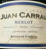 卡劳酒庄胡安卡劳梅洛干红葡萄酒(Bodegas Carrau Juan Carrau Merlot,Cerro Chapeu,Uruguay)