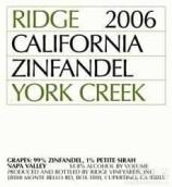 山脊约克溪仙粉黛干红葡萄酒(Ridge York Creek Zinfandel,Spring Mountain District,USA)