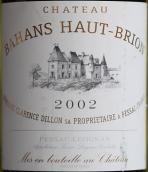 百安侯伯王干红葡萄酒(Chateau Bahans Haut-Brion,Pessac-Leognan,France)