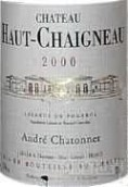 上沙依诺酒庄沙托内干红葡萄酒(Chateau Haut Chaigneau Chatonnet,Lalande-de-Pomerol,France)