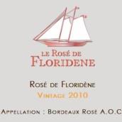 佛罗伊丹波尔多桃红葡萄酒(Clos Floridene Bordeaux Rose AOC,Bordeaux,France)