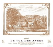 邦尼顿天使胡珊甜白葡萄酒(Bonny Doon Vineyard Le Vol Des Anges Roussanne,Arroyo Seco,...)