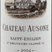 欧颂酒庄红葡萄酒(Chateau Ausone, Saint-Emilion Grand Cru Classe, France)