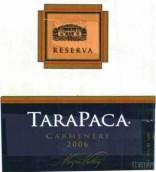 塔拉巴嘎珍藏佳美娜干红葡萄酒(Vina Tarapaca Reserva Carmenere,Maipo Valley,Chile)