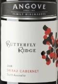 安戈瓦蝶舞西拉-赤霞珠混酿干红葡萄酒(Angove Butterfly Ridge Shiraz - Cabernet, South Australia)