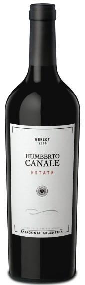 贝托纳庄园精选梅洛干红葡萄酒(Humberto Canale Estate Merlot,Rio Negro,Argentina)