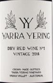 雅拉优领1号干红葡萄酒(Yarra Yering Dry Red No.1, Yarra Valley, Australia)