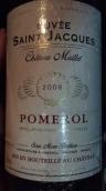 梅耶酒庄圣雅克特酿干红葡萄酒(Chateau Maillet Cuvee Saint-Jacques, Pomerol, France)
