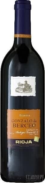 贝赛欧集团酒堡贡柴罗珍藏干红葡萄酒(Grupo Berceo Luis Gurpegui Muga Gonzalo de Berceo Reserva,...)