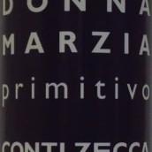 Conti Zecca Donna Marzia Primitivo Salento IGT,Puglia,Italy