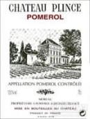 普林斯酒庄干红葡萄酒(Chateau Plince,Pomerol,France)