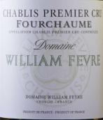 威廉·费尔福夏园(夏布利一级园)干白葡萄酒(Domaine William Fevre Fourchaume, Chablis Premier Cru, France)