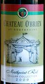 欧布莱恩酒庄酒窖收藏北角干红葡萄酒(Chateau O'Brien Cellar Collection Northpoint Red,Virginia,...)