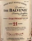 百富21年波特桶陈苏格兰单一麦芽威士忌(The Balvenie Aged 21 Years PortWood Single Malt Scotch ...)