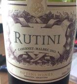 露迪尼赤霞珠-马尔贝克混酿干红葡萄酒(Rutini Wines Cabernet Malbec, Mendoza, Argentina)