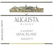 奥古斯塔威代尔干白葡萄酒(Augusta Winery Vidal Blanc, Augusta, USA)