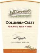 哥伦比亚山峰大园精选莫斯卡托干白葡萄酒(Columbia Crest Grand Estates Moscato,Columbia Valley,USA)