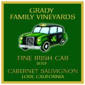 格雷迪家族酒庄爱尔兰香车赤霞珠干红葡萄酒(Grady Family Vineyards Fine Irish Cab Cabernet Sauvignon, Lodi, USA)