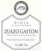 苏亚索加斯顿酒庄精选干红葡萄酒(Zuazo Gaston Vendemia Seleccionada,Rioja DOCa,Spain)