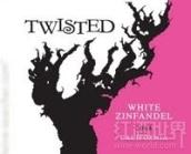 德利卡翠丝藤仙粉黛桃红葡萄酒(Delicato Family Vineyards Twisted White Zinfandel, California, USA)