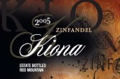 Kiona Vineyards Estate Zinfandel, Red Mountain, USA