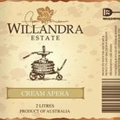 威兰德拉庄园奶油阿佩罗加强酒(Willandra Estate Cream Apera,Riverina,Australia)
