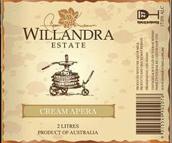 威兰德拉庄园奶油阿佩罗加强酒(Willandra Estate Cream Apera, Riverina, Australia)