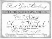 温巴赫奥登堡灰皮诺粒选贵腐甜白葡萄酒(Domaine Weinbach Altenbourg Pinot Gris Selection de Grains Nobles, Alsace, France)