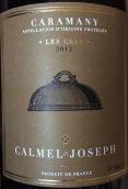 卡梅尔约瑟夫克罗斯干红葡萄酒(Calmel Joseph Les Crus,Caramany,France)