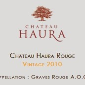 奥娜赛龙甜白葡萄酒(Chateau Haura Cérons AOC,Cerons,France)