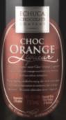 圣安妮伊丘卡巧克力公司香橙利口酒(St Anne's Echuca Chocolate Company Choc Orange Liqueur, Perricoota, Australia)