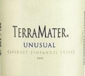特雷玛特非凡系列赤霞珠-西拉-仙粉黛混酿干红葡萄酒(TerraMater Unusual Cabernet-Shiraz-Zinfandel,Maipo Valley,...)