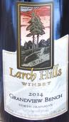 落叶松山酒庄大观台混酿干红葡萄酒(Larch Hills Grandview Bench Red,Okanagan Valley,Canada)