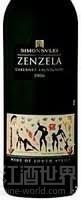 西蒙斯雷增泽拉赤霞珠干红葡萄酒(Simonsvlei Zenzela Cabernet Sauvignon,Paarl,South Africa)