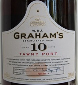 格兰姆10年茶色波特酒(W. & J. Graham's 10 Year Old Tawny Port, Douro, Portugal)