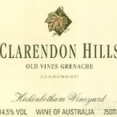 克拉伦敦山希金博特园老藤歌海娜干红葡萄酒(Clarendon Hills Hickinbotham Vineyard Old Vine Grenache, Clarendon, Australia)