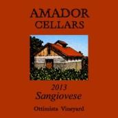 阿马多尔桑娇维塞干红葡萄酒(Amador Sangiovese,Shenandoah Valley,USA)