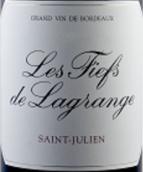 力关庄园副牌干红葡萄酒(Les Fiefs de Lagrange,Saint-Julien,France)