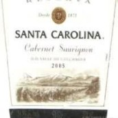 圣卡罗珍藏赤霞珠干红葡萄酒(Santa Carolina Reserva Cabernet Sauvignon, Valle de Colchagua, Chile)