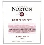 诺顿橡木桶精选霞多丽干白葡萄酒(Bodega Norton Barrel Select Chardonnay, Lujan de Cuyo, Argentina)